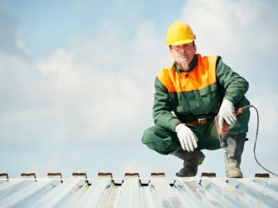 Como fazer um telhado industrial?