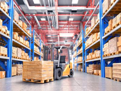 Meios de locomoção de cargas na indústria