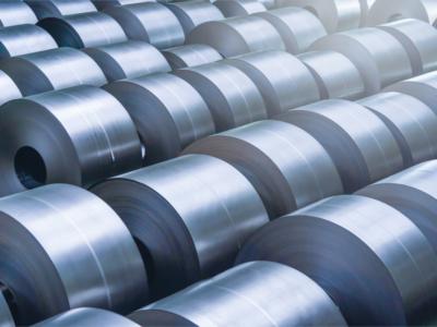 Aço inox em peças da indústria